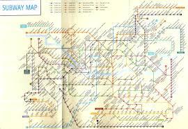 Seoul Subway Map by Beck U0027s Tour Korea Travel And Tour Company