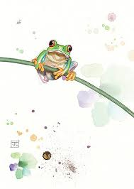 bugart critters tree frog critters designed by