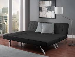 Sofa Bed With Chaise Lounge by Dhp 2024009 Emily Chaise Lounger Black Amazon Ca Home U0026 Kitchen