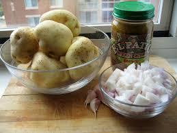 El Patio De Albuquerque by Green Chile Potatoes The Innocent Primate Vegan Blog