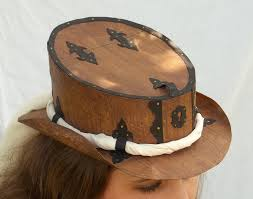 all things crafty steampunk cereal box hat