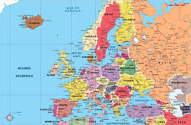 mapa europe mapa europe major tourist attractions maps