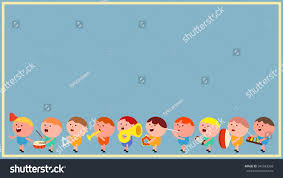 chubby cute little boy kids cartoon stock vector 345583358