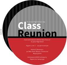 high u0026 college class reunion invitations
