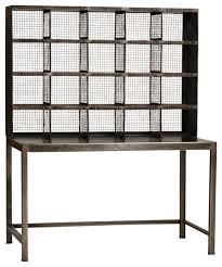 consigned vintage industrial iron desk industrial desks and