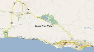 map of santa santa barbara com restaurant guide map of santa ynez valley