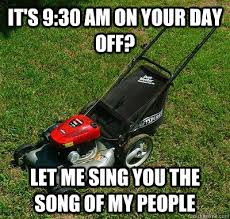 Lawn Mower Meme - ready set mow matchmaker logistics