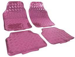 design fussmatten design fussmatten universal alu riffelblech optik chrom pink