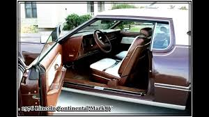 1976 lincoln continental mark iv youtube