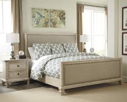 Ashley Furniture Upholstered Bed Welcome The Latest Spring Trends For The Bedroom