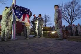 Minneapolis Flag Honoring Our Flag Reveille And Retreat Protocol U003e Minneapolis St