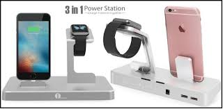 best charging station best apple watch and iphone charging dock stand amazon