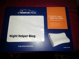 Tempurpedic Comfort Pillow 2015 Holiday Gift Guide Tempur Pedic Contour Side To Side Pillow