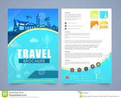 travel brochure template for students travel brochure template fieldstation co