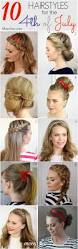 hairstyles for the 4th of july hair inspiration pinterest
