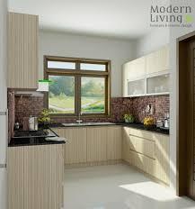 modern living kitchen set