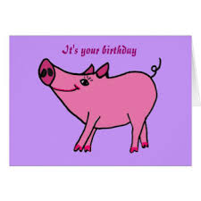 funny farm animals happy birthday greeting cards zazzle co uk