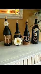 cute diy home decor everyone has bottles have removable stuff on