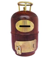 frabjous wooden cylinder money bank home decor buy frabjous