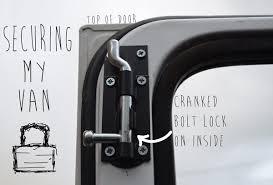 Security Locks For Windows Ideas Van Conversion Ideas