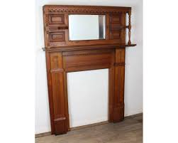 fireplace mantel pine american victorian c 1880 from