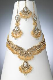 new fashion jewelry necklace images Pakistani gold jewellery designs blinged out jewelry pinterest jpg