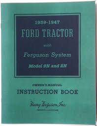 100 ford 8n tractor service manual ford tractor owners