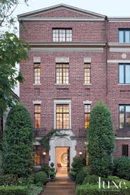 Neoclassical Homes Traditional Brick Townhouse Exterior Luxe Exteriors