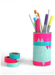 diy pen holder desk caddy pencil organiser