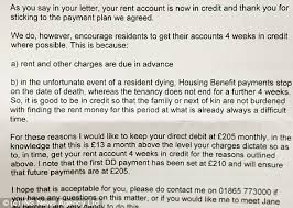 Rent Increase Letter Ma dear tenant pay rent in you die shocking