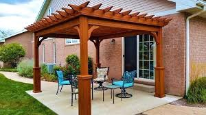 pergola ideas for small backyards cost plans 12 20