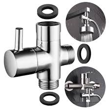 free shipping brass 3 way diverter valve for handheld shower head