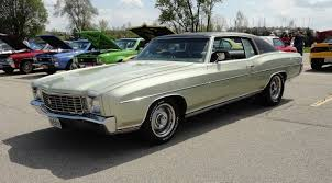 1972 chevrolet chevy monte carlo in pewter silver paint my car