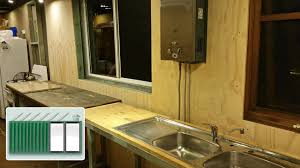 shipping container house u2013 mounting kitchen lpg water heater to