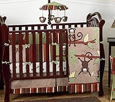 amazon com monkey animal jungle safari baby boy bedding 9pc boys