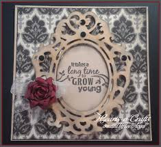 one scrap at a time fancy frames birthday card made with cricut