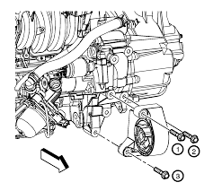 repair instructions on vehicle transmission front mount