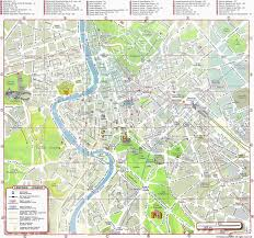 Italy City Map by Rome Map Detailed City And Metro Maps Of Rome For Download