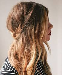15 simple hairstyles that are half up half down