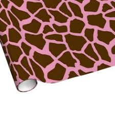 cheetah print wrapping paper fox gift wrap fox kids birthday party wrapping paper