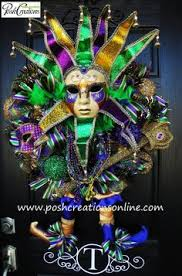 mardi gras mask for sale reserved for mardi gras jester mask wreath mardi gras