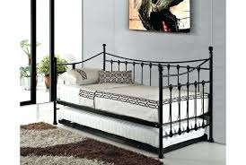 Black Daybed With Trundle Metal Daybed With Trundle Bmhmarkets Club