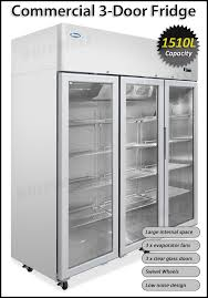 buy commercial commercial 3 door fridge 1500l g15a tga15