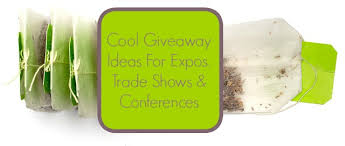 cool giveaway ideas for expos trade shows and conferences live