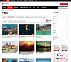 wordpress layout how to best wordpress video theme of 2018 create your own video portal