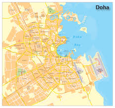 Map Of Time Zones by Info Map Of Doha Travel