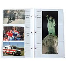 5x7 photo album refill pages album refill pages b h photo