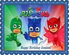 amazon 12 pj masks rings cupcake toppers birthday party