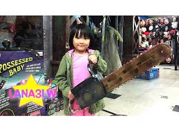halloween spirit store popular halloween chainsaw prop at the spirit store lana3lw youtube