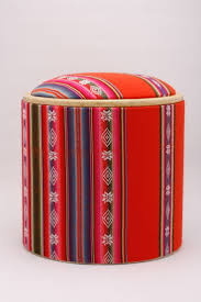 Red Ottoman Best 25 Eclectic Ottomans And Cubes Ideas On Pinterest Tv Stand